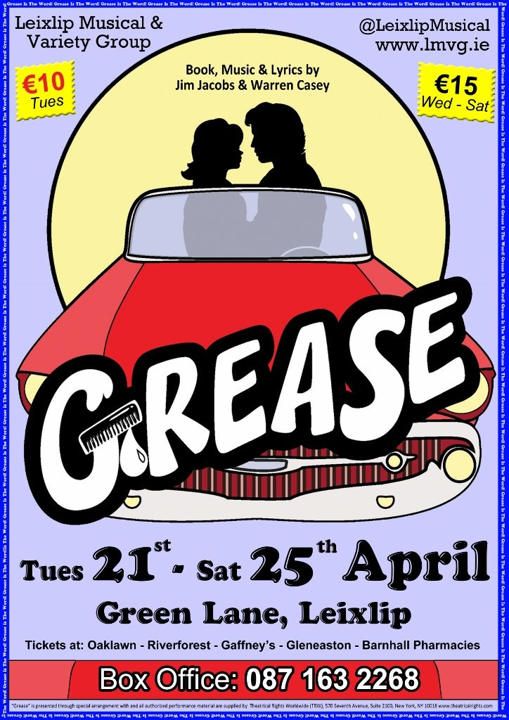 Grease Poster (724x1024)